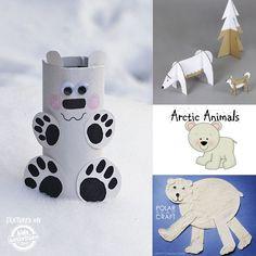 Polar bear winter printables
