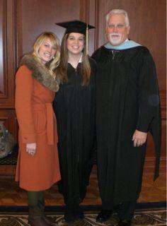 With Morgan & Ashley at Samford Graduation.