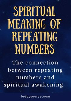Spiritual Meaning of Repeating Numbers – Ledbysource Spiritual Enlightenment, Spiritual Life, Spiritual Awakening, Spiritual Healer, Spiritual Guidance, Spiritual Practices, Spiritual Meaning Of 1111, 111 Meaning, Meaning Of Life