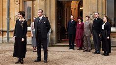 La série «Downton Abbey».  La sixième saison de Downton Abbey sera la dernière.