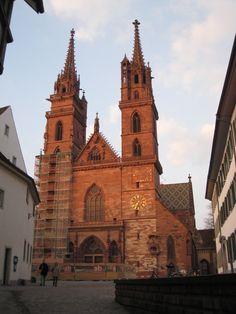 Basel, Switzerland - Münster cathedral