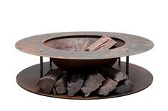 Wood Store Fire Pit