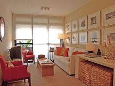 Ideas para decorar, diseñar y mejorar tu casa.: Salas Pequeñas en Departamentos