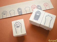 猫の手はんこセット