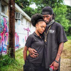Jacques Johnson and Pilar Agpawa, (Alton Sterling) Baton Rouge, Louisiana, July 2016