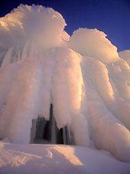 Ice Caves Munising MI | Grand Island Ice Caves, Lake Superior, Upper Peninsula of Michigan