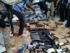 Autoridades de Haití ocupan unas 165 armas de guerra y pertrechos militares