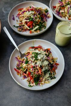 Coconut Quinoa Slaw from Naturally Nourished Side Recipes, Veggie Recipes, Salad Recipes, Vegetarian Recipes, Healthy Recipes, Coconut Quinoa Salad, Healthy Salads, Healthy Eating, Vegetable Side Dishes