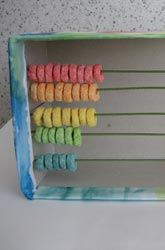 Cute abacus. The little ones would enjoy this one.
