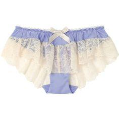 アンフィ フレアショーツ ($25) ❤ liked on Polyvore featuring intimates, underwear and lingerie