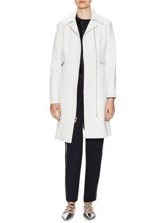 Bohen Coat with Flap Pockets by ALC at Gilt