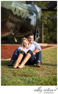 Air Force engagement photo idea!    So sweeet.  Travis has a perfect place for this shot