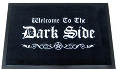 Welcome To The Dark Side Fußmatte - Fußmatte