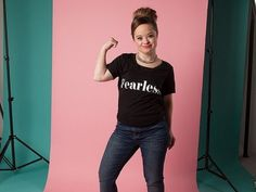 Katie crushes it on Hello Giggles! Katie Meade is breaking huge barriers for models with Down syndrome