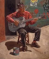 Risultati immagini per bluesman art
