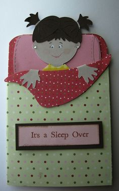 Cute Sleepover Party invitation by WhiteSugar on Etsy, $5.00