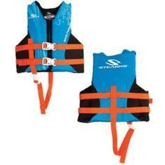 Stearns Child Hydroprene™ Vest Life Jacket - 30-50lbs - Blue
