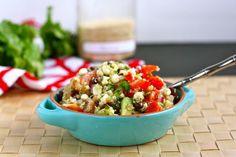 Black Bean, Quinoa and Citrus Salad