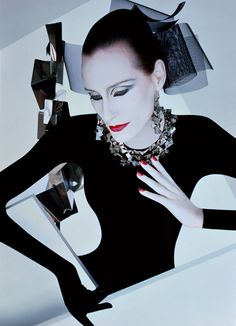 Bess Stonehouse  for Serge Lutens, November 1985