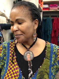 Frida Karlo pendant - by Signorina's Crochet Earrings, Jewellery, Pendant, Ideas, Fashion, Moda, Jewels, Fashion Styles, Schmuck
