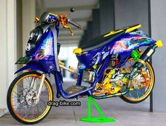 Scoopy Thailook Modifikasi Honda Pinterest Honda Drag Bike
