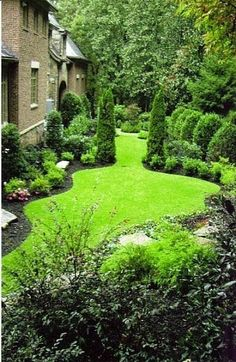 Landscaping Beautiful Garden