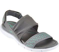 Ryka Adjustable Sling Back Sport Sandals - Rodanthe