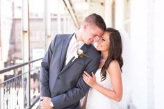 Lovely Groom and Bride    French Wedding - RosellePhotography