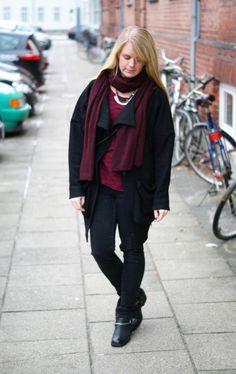 Black Swan - Black Swan Asymmetric Wool Coat -