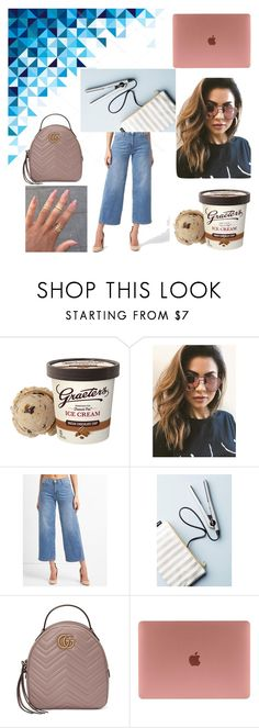 """Untitled #904"" by yasm-ina ❤ liked on Polyvore featuring MINKPINK, Eva NYC and Gucci"
