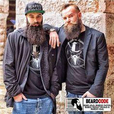 #BeardOfTheDay For Saturday 31st March 2018 is�this awesome #bearded brothers photo! #beards #beard #beardedvillains #beardlife #beardgang #beardsofinstagram #barber #malemodel
