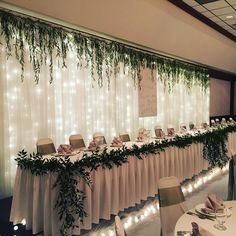Ideas diy wedding reception backdrop fun for 2019 Rustic Wedding Backdrops, Wedding Reception Backdrop, Wedding Chairs, Diy Wedding Decorations, Wedding Centerpieces, Wedding Venues, Wedding Head Tables, Rustic Backdrop, Wedding Ideas