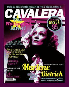 Marlene Dietrich located t-shirt print for Cavalera S/S 2012