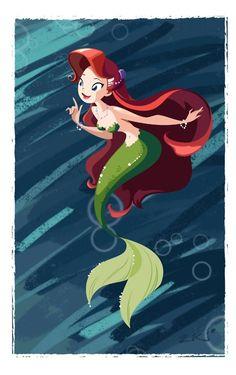 "Really cute Ariel  ""Ariel"" by by William K."