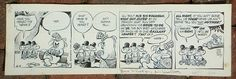 Pogo, August 9, 1954 by Walt Kelly, ink on bristol paper
