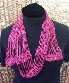 Free Crochet Pattern: Sweet Song Decorative Scarf