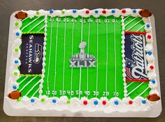 We offer custom cakes, cupcakes, and cake squares in delicious flavors like Pink Lemonade, Red Velvet, Devil's Food and more! Football Field Cake, Sports Themed Cakes, Devils Food, Bakery Cakes, Specialty Cakes, Pink Lemonade, Big Game, Custom Cakes, Super Bowl