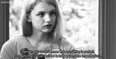 """""""Being happy doesn't mean that everything's perfect. It means that you've decided to look beyond the imperfections."""" #Skins"""