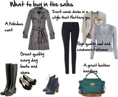 What to buy in the stocktake sales - from Imogen Lamport of Inside Out Style blog