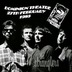 the Stranglers - Dominion Theatre, London, 27 February 1985