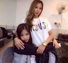 Yook Jidam and Jessi (Unpretty Rapstar)
