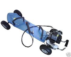 ScooterX 49cc Gas Skateboard *Easily controlled by hand levers* by Scooter X, http://www.amazon.com/dp/B0051HHZSC/ref=cm_sw_r_pi_dp_rgXGqb0N41EG5