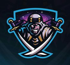 Sport poster vector design inspiration 66 ideas Source by Wizards Logo, Ninja Logo, Game Logo Design, Esports Logo, Graffiti, E Sport, Mascot Design, Photo Logo, Creative Logo