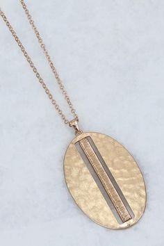 Long Oval Pendant Necklace  #gno #outfitgoals #hurryin #holidaygift #christmasparty #outfit #fall #shopping #girlsnight #wantitnow