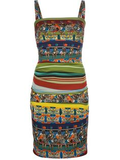 Dolce and Gabbana Printed Dress