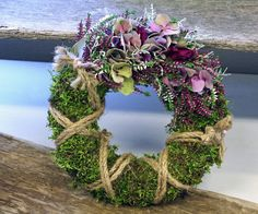 Hydrangea Wreath, Floral Wreath, Diy Wreath, Grapevine Wreath, Seasonal Decor, Fall Decor, Grave Decorations, Sympathy Flowers, Funeral Flowers