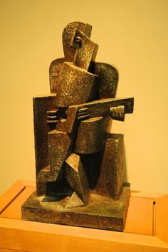 Jacque Lipchitz- cubist sculpture