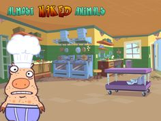 Almost Naked Animals | Piggy's Kitchen!