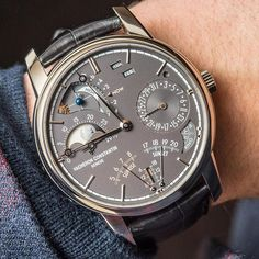 Vacheron Constantin Celestia 1Mio - Part of our New released article about the Top 11 Watches Of SIHH 2017 & An Industry Holding On Tight. Join Ariel Adams's insight on the state of the industry and key highlights of this year's edition of the luxurious Geneva watch fair... ○ Article live now - link in BIO #ablogtowatch