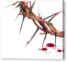 Jesus Drawings Crown of Thorns Jesus Our Savior, Jesus Art, Jesus Crown, Christian Artwork, Bible Illustrations, Jesus Painting, Prophetic Art, Crown Of Thorns, Jesus Pictures
